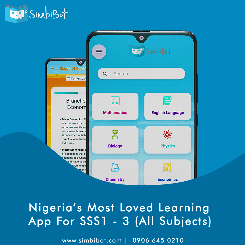 SimbiBot: Nigeria's most loved learning app